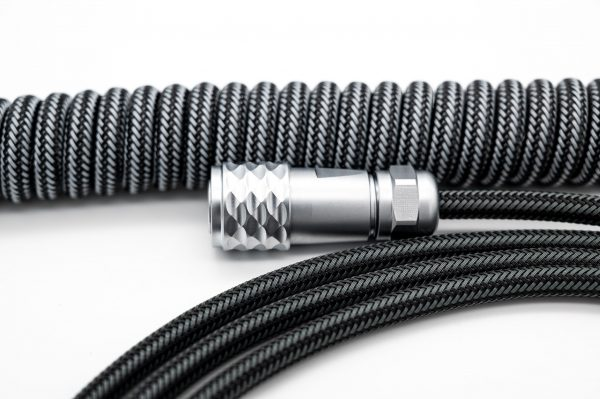 nanosuit coiled cable compressed